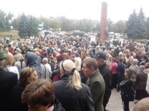 dONBAS PROTESTS