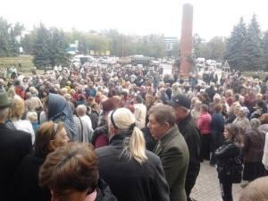 dONBAS PROTESTS