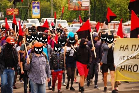 Anarchist March Kyiv 2014