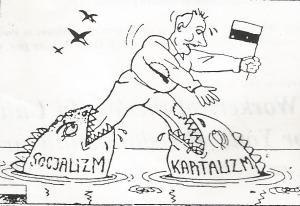 Cartoon Transition Poland