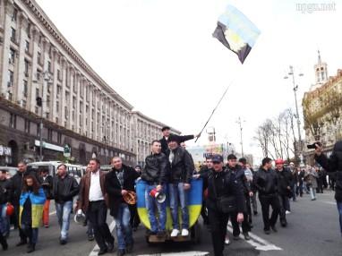 Miners on Maidan
