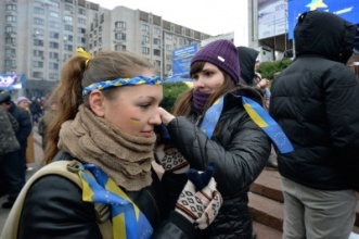 Girls on Maidan