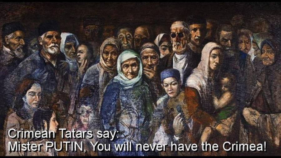 Tatars Putin will never have crimea