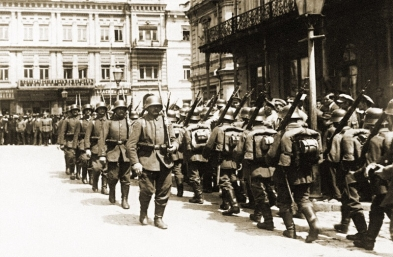 GermanTroops in Kyiv 1918