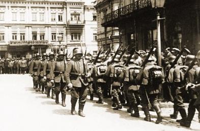 GermanTroops in Kyiv 1918
