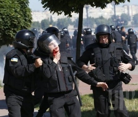 Terrorism at Kyiv pride