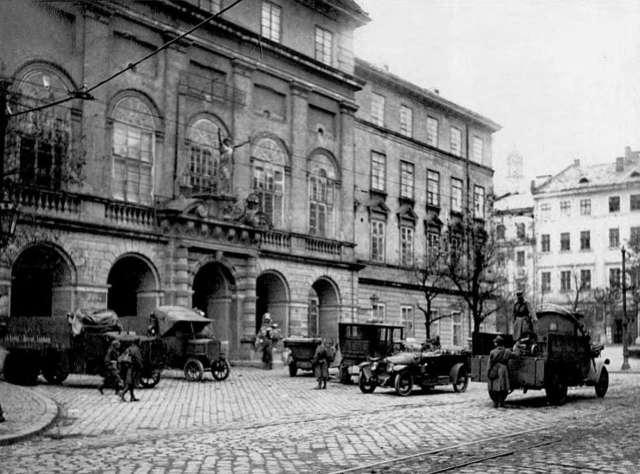 Lviv WUNR 1918