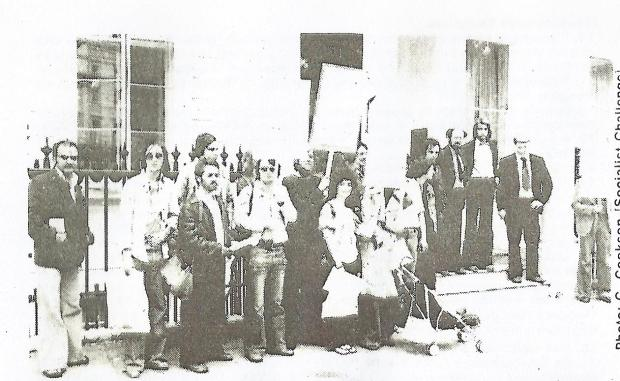 Picket of the East German Embassy0003